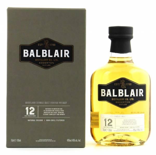 Balblair 12 Jahre Single Malt 0,7l
