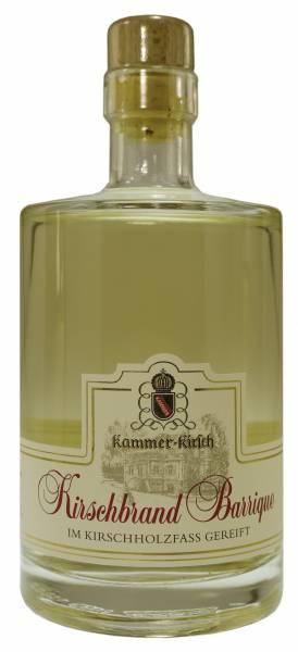 Kammer-Kirschbrand Barrique Kirschholzfass-Reifung 0,5 Liter
