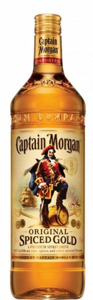 Captain Morgan Spiced Gold 0,7 Liter