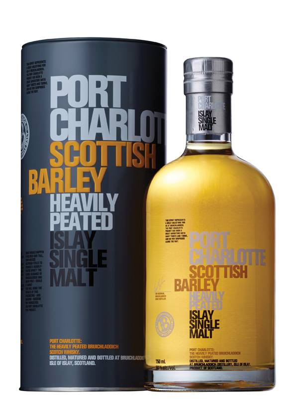 Port Charlotte Scottish Barley 0,7 Liter