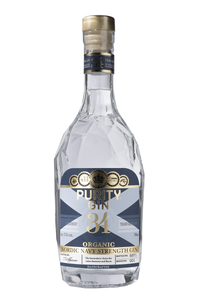 Purity Navy Strength Organic Gin 57,1% 0,7 Liter