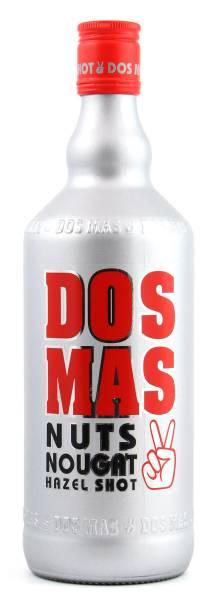 Dos Mas Nuts Nougat Hazel Shot Likör 0,7l