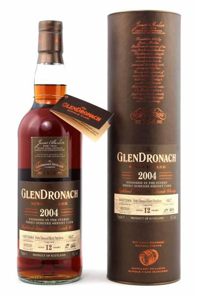 GlenDronach 12 Jahre Exclusive Cask #6627 2004 0,7 Liter
