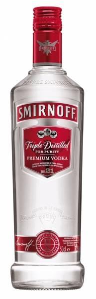 Smirnoff Vodka Red Label 0,5 Liter