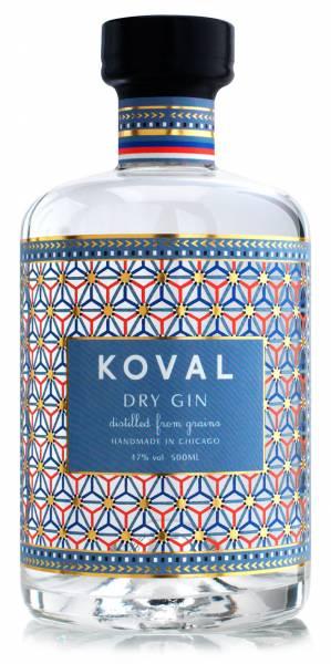 Koval Dry Gin Small Batch 47% 0,5l