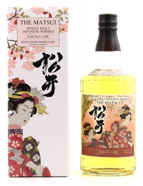 The Matsui Sakura Cask Whisky 0,7l