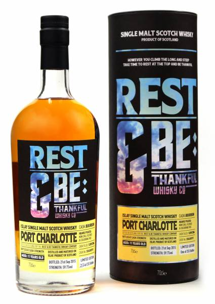 Port Charlotte 11 Jahre 2004 Bourbon 59,7% Rest & Be 0,7 Liter