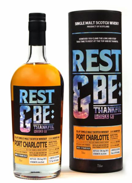 Port Charlotte 13 Jahre 2001 Sherry 64,6% Rest & Be 0,7 Liter