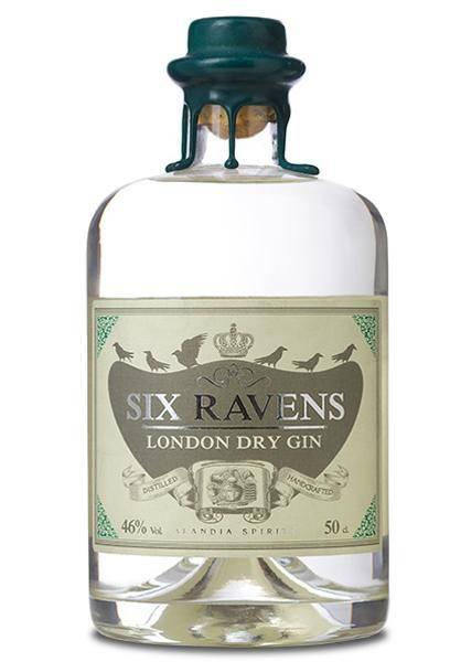 Six Ravens London Dry 0,5 Liter