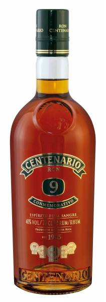 Ron Centenario Rum Conmemorativo 9 Jahre 0,7 Liter