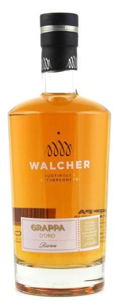 Walcher Grappa D'Oro Riserva 0.7 l
