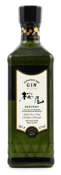 Japanese Sakurao Dry Gin 0,7 Liter