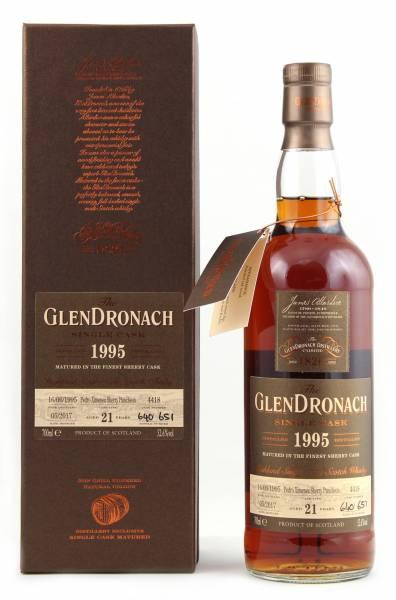GlenDronach 1995 #4418 21 Jahre Batch 15 0,7l