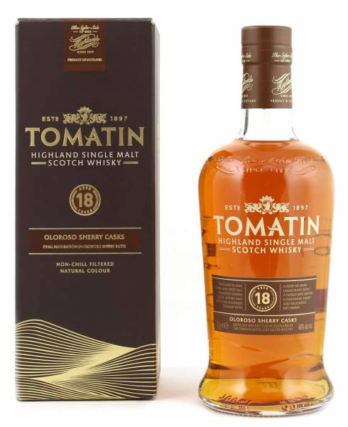 Tomatin 18 Jahre Scotch Whisky