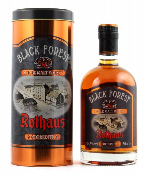 Rothaus Black Forest 2018 Madeira Wood Single Malt Whisky 0,5l