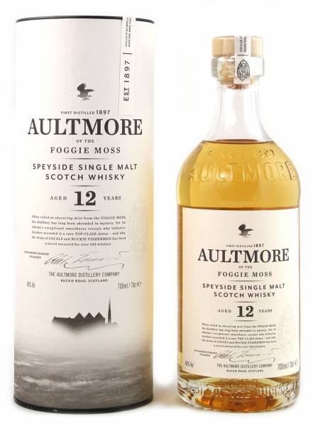 Aultmore 12 Year Old 0,7 Liter