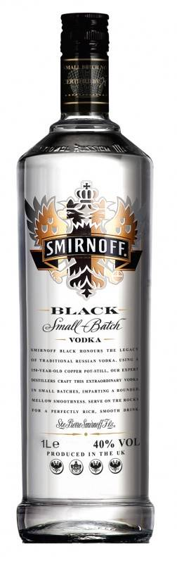 Smirnoff Vodka Black Label 1 Liter