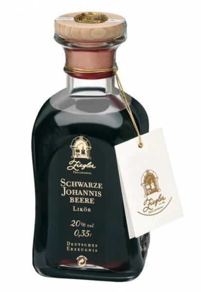 Ziegler Schwarze Johannisbeere Likör 0,35 Liter