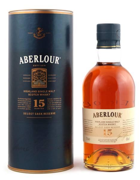 Aberlour 15 Jahre Select Cask Reserve 0,7 Liter