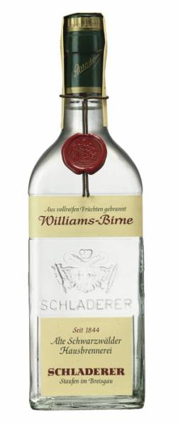 Schladerer Williams Birne 0,7 Liter