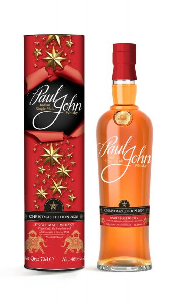 Paul John Christmas Edition 2020 0,7l