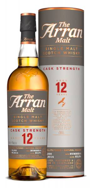 Arran Single Malt 12 Jahre Cask Strength 0,7 Liter #5