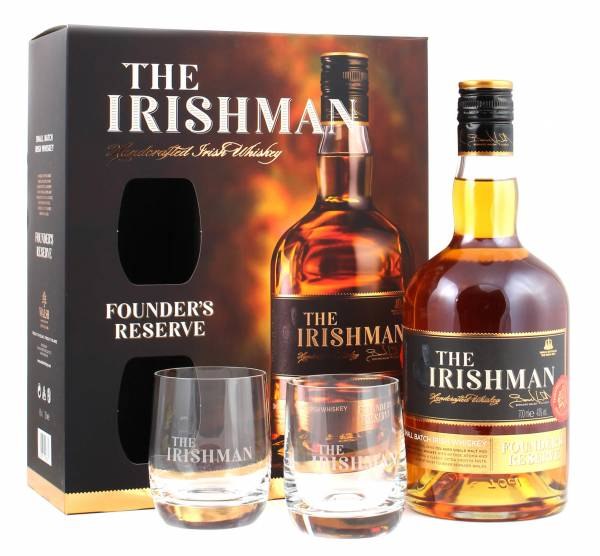 Irishman Geschenkverpackung Founders Reserve
