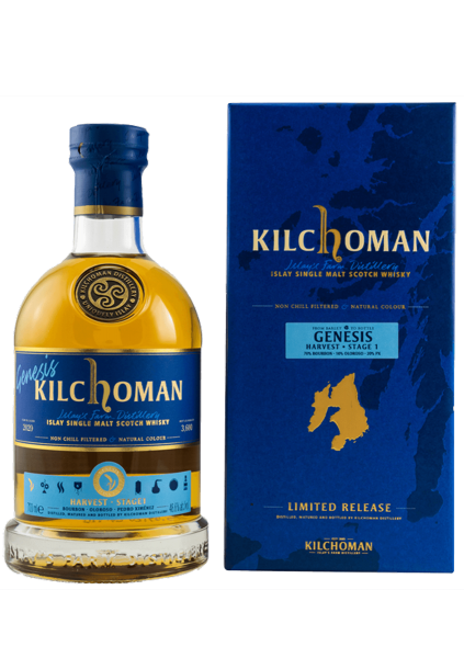 Kilchoman Genesis Harvest Stage I 48% 0,7 Liter
