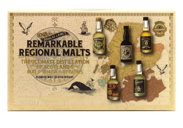 Remarkable Regional Malts Douglas Laing Tasting-Set 5x0,05l