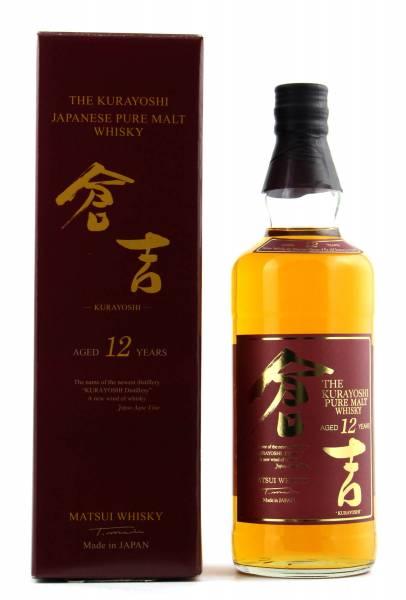 The Kurayoshi 12 Jahre Pure Malt Whisky 0,7l