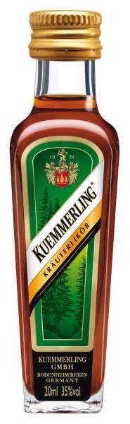 Kuemmerling Kräuterlikör 25 x 0,02 Liter