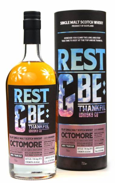 Octomore 7 Jahre 2008 Bourbon 65,6% Rest & Be 0,7 Liter