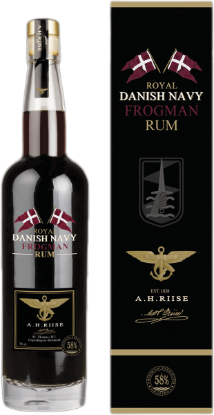 A.H. Riise Royal Danish Navy Rum Frogman Edition 0,7l