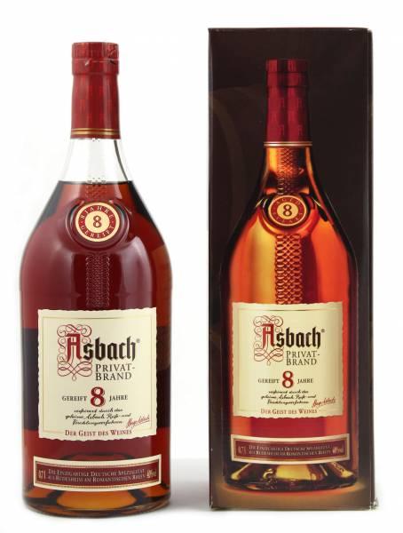Asbach Privatbrand 8 Jahre 0,7 Liter in Geschenkverpackung