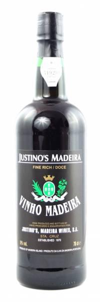 Madeira Justino 0,75 Liter