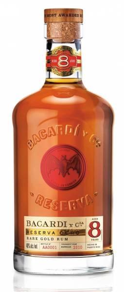 Bacardi Reserva Ocho Rare Gold Rum 0,7l