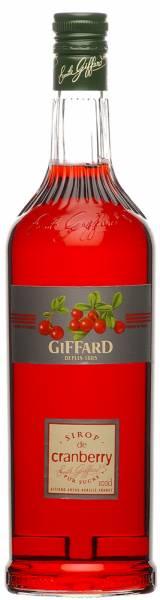 Giffard Sirup Cranberry 1 Liter