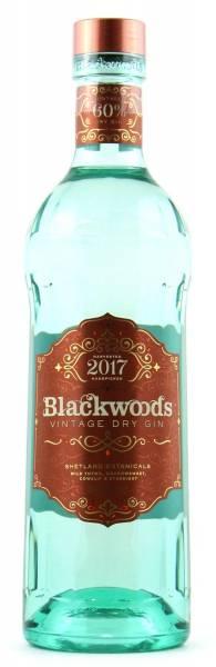 Blackwood's Vintage Dry Gin 60%Vol. 0,7 Liter