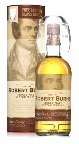 Arran Robert Burns Single Malt 0,7l + Tumbler