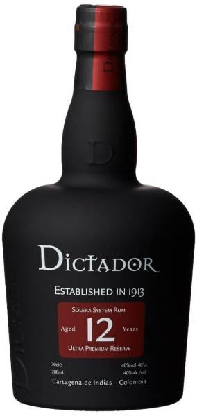 Dictador Rum 12 Jahre 0,7 Liter
