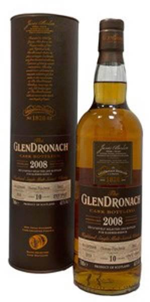 GlenDronach #3842 2008 Oloroso Puncheon 10 Jahre 0,7 Liter