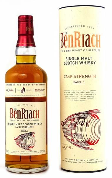 BenRiach Cask Strength Batch #1 0,7 Liter