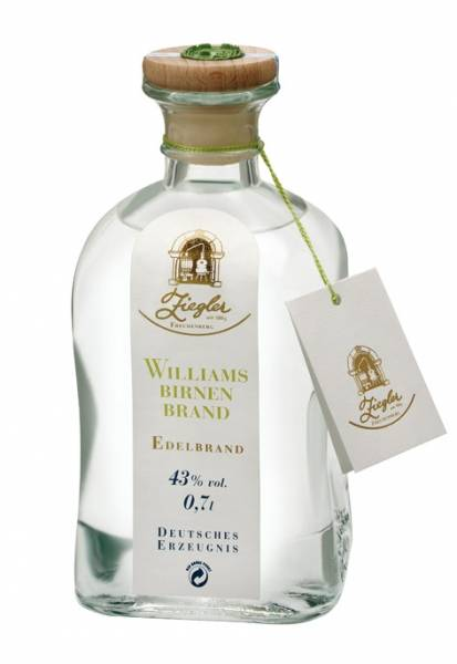 Ziegler Williams Birnenbrand 0,7 Liter
