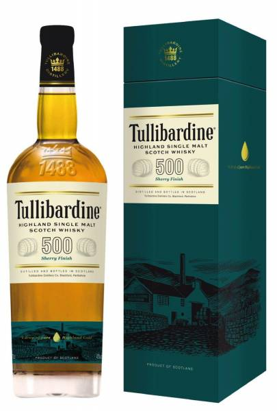 Tullibardine 500 Sherry Finish 0,7 Liter