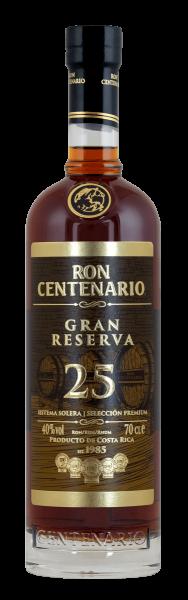 Ron Centenario Gran Reserva 25 Anos 0,7 Liter