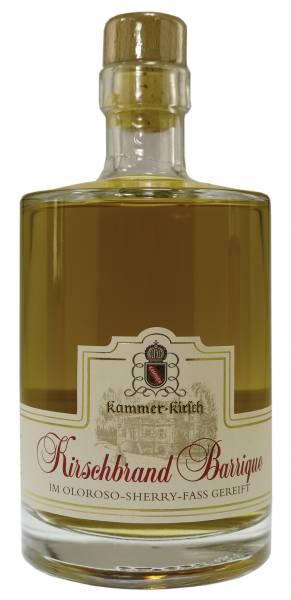 Kammer-Kirschbrand Barrique Oloroso-Sherryfass-Reifung 0,5 Liter