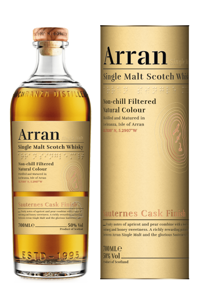 Arran Malt Sauternes Cask Finish 0,7 Liter