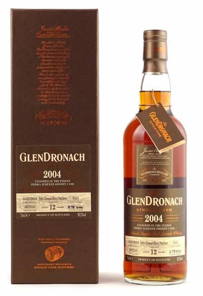 GlenDronach 2004 #5523 12 Jahre Batch 14 0,7 Liter