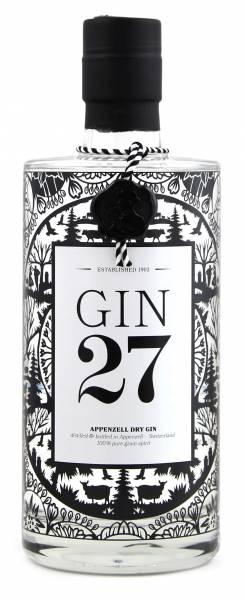 Appenzeller GIN 27 0,7 Liter