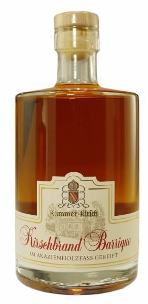 Kammer-Kirschbrand Barrique Akazienholzfass-Reifung 0,5 Liter